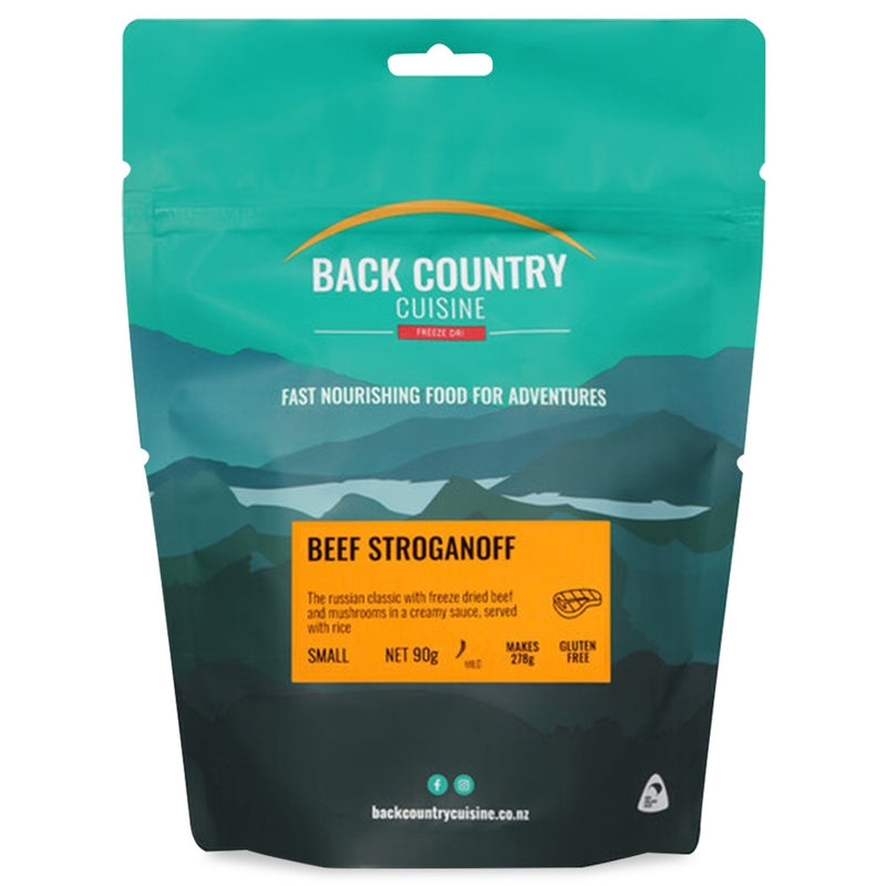 Back Country Cuisine : Beef Stroganoff - Gluten Free - 1 Serve (Small)