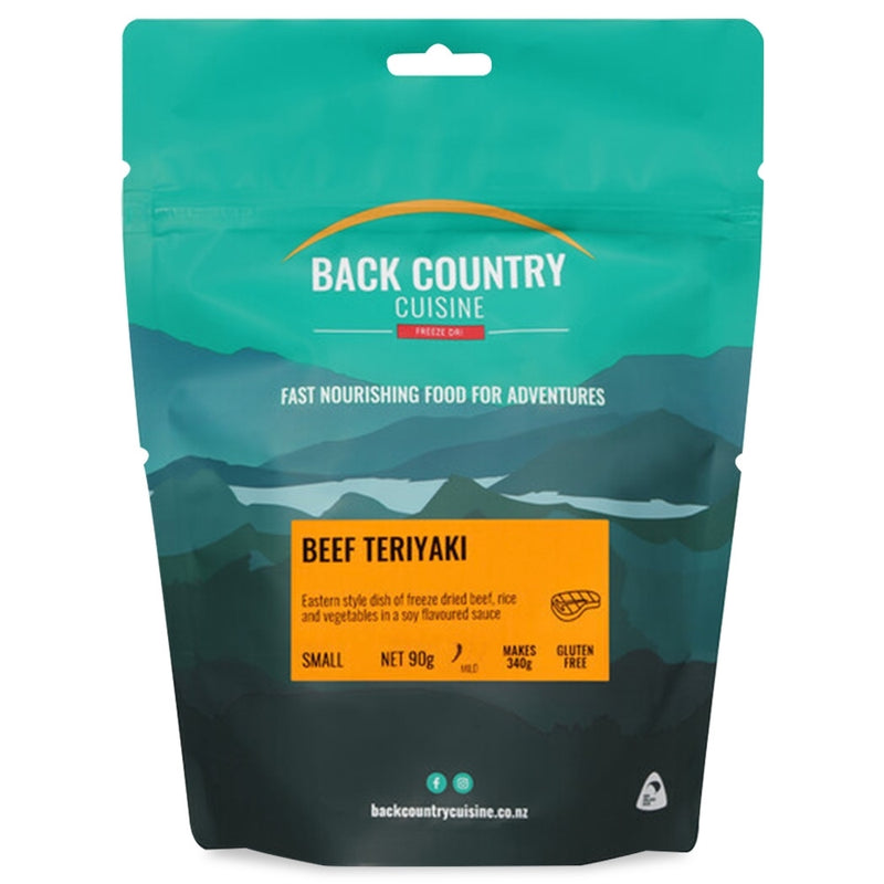 Back Country Cuisine : Beef Teriyaki - Gluten Free - 1 Serve (Small)