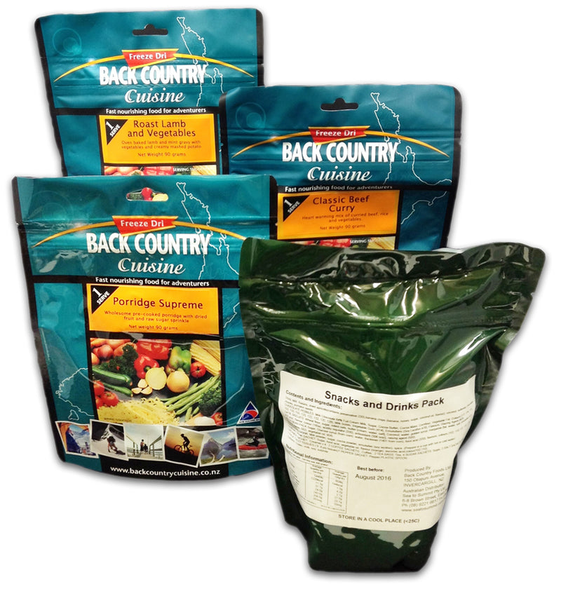 Back Country : Classic Ration Pack