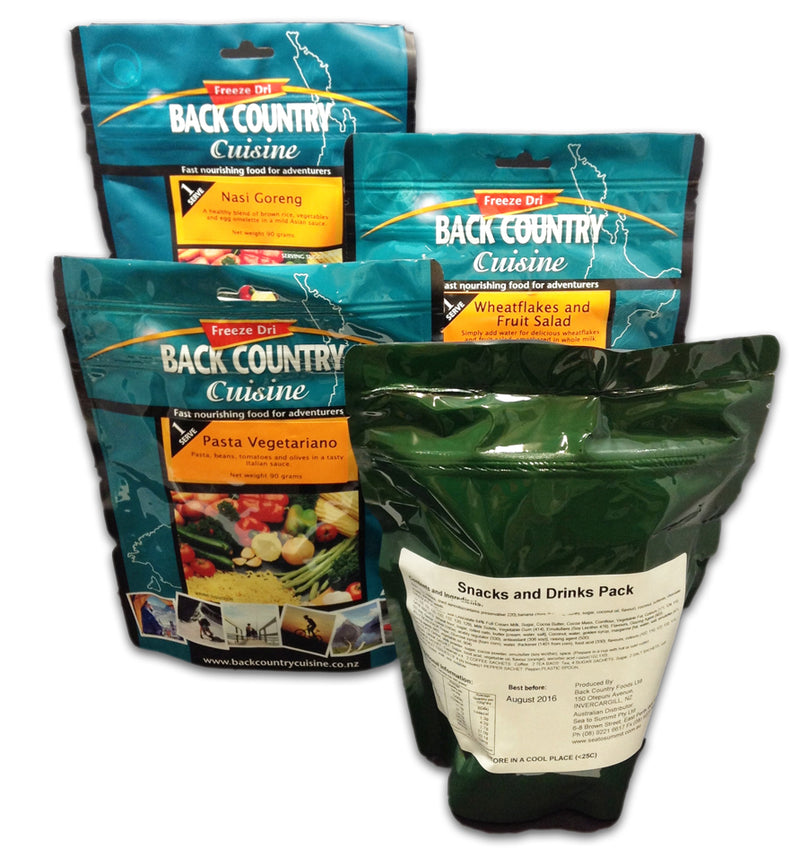 Back Country : Vegetarian Ration Pack