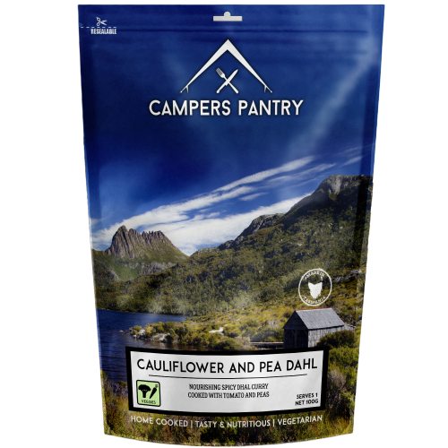 Campers Pantry : Cauliflower and Pea Dahl - 1 Serve