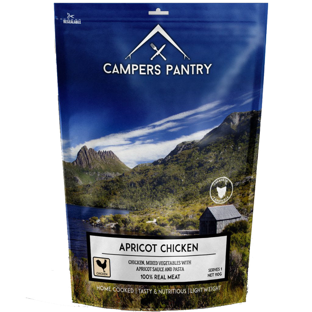 Campers Pantry : Apricot Chicken - 1 Serve