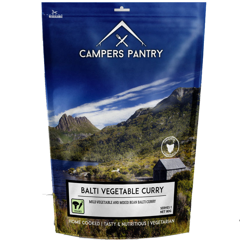 Campers Pantry : Balti Vegetable Curry - 2 Serve (Double)