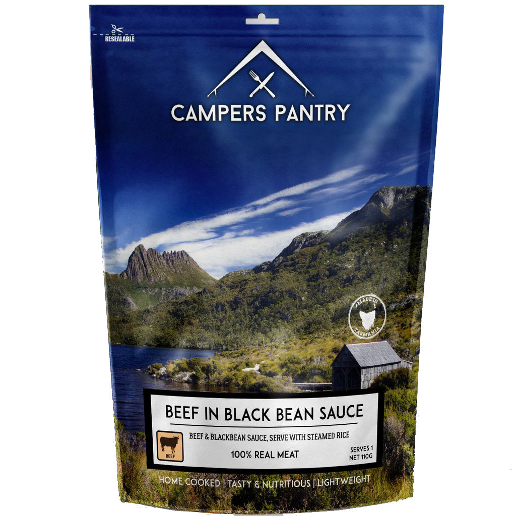 Campers Pantry : Beef in Blackbean Sauce - 1 Serve