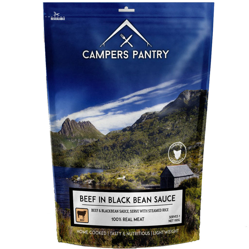 Campers Pantry : Beef in Blackbean Sauce - 2 Serve (Double)