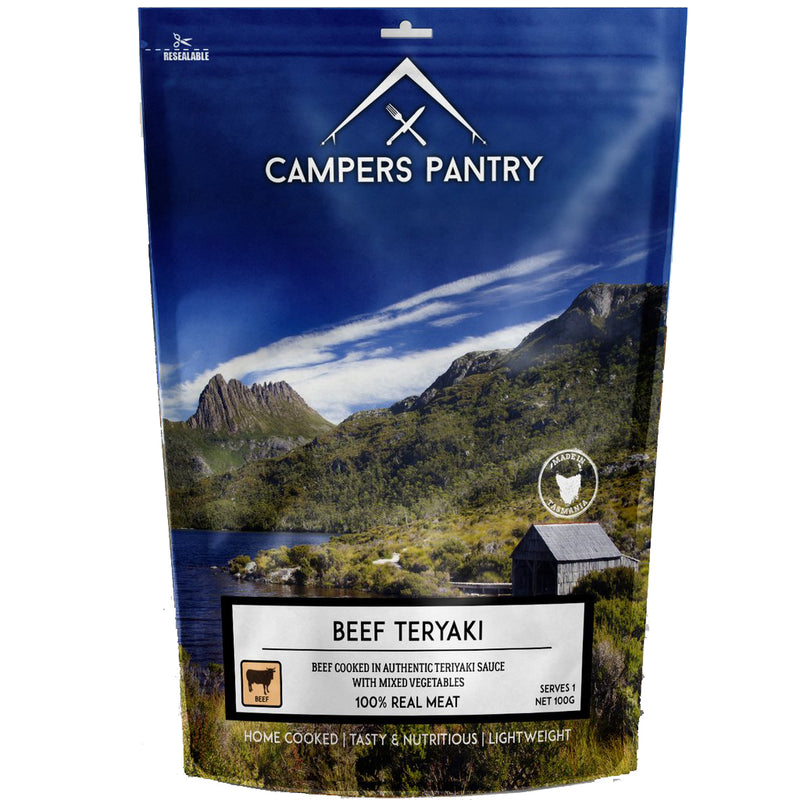 Campers Pantry : Beef Teryaki - 1 Serve