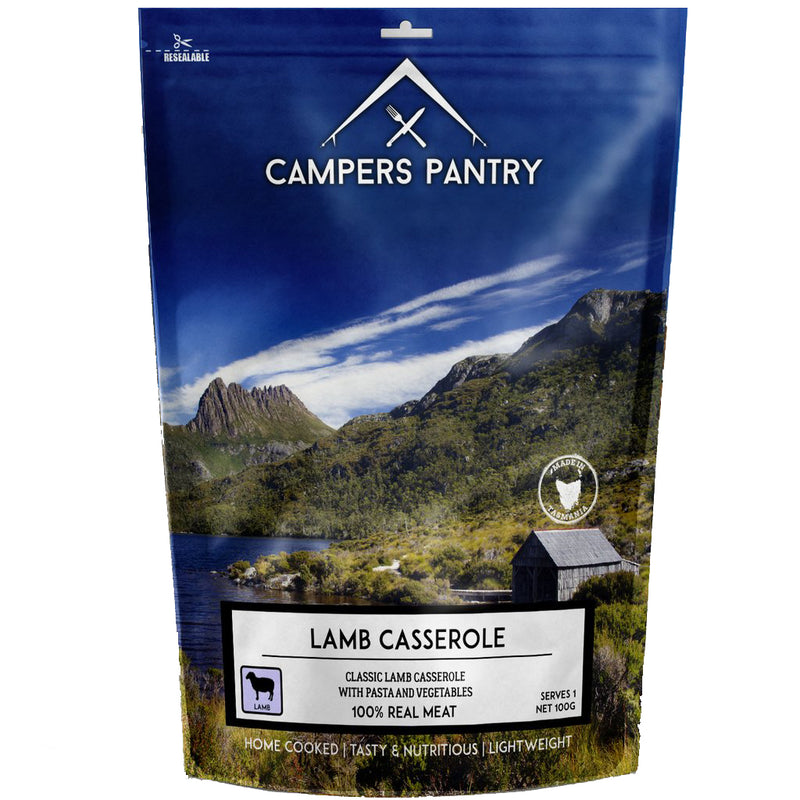 Campers Pantry : Lamb Casserole - 1 Serve
