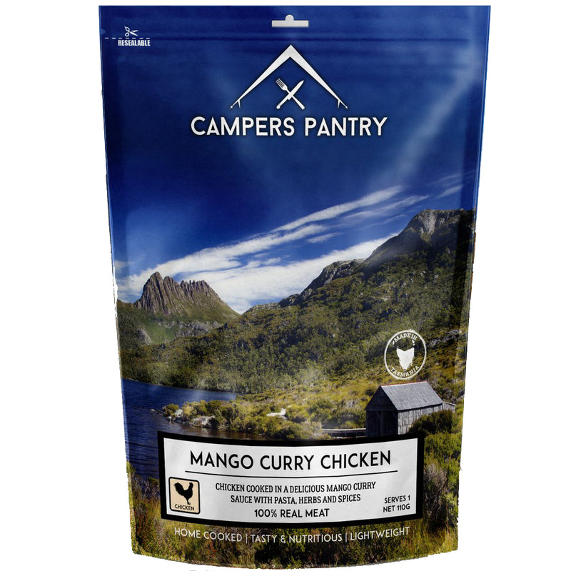 Campers Pantry : Mango Curry Chicken - 1 Serve