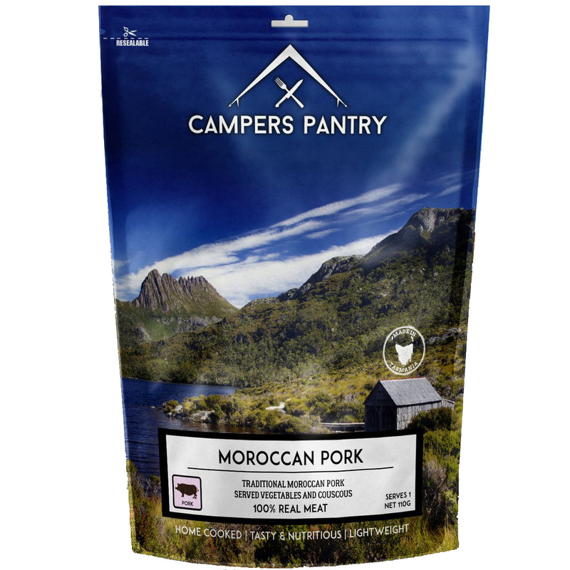 Campers Pantry : Moroccan Pork - 1 Serve