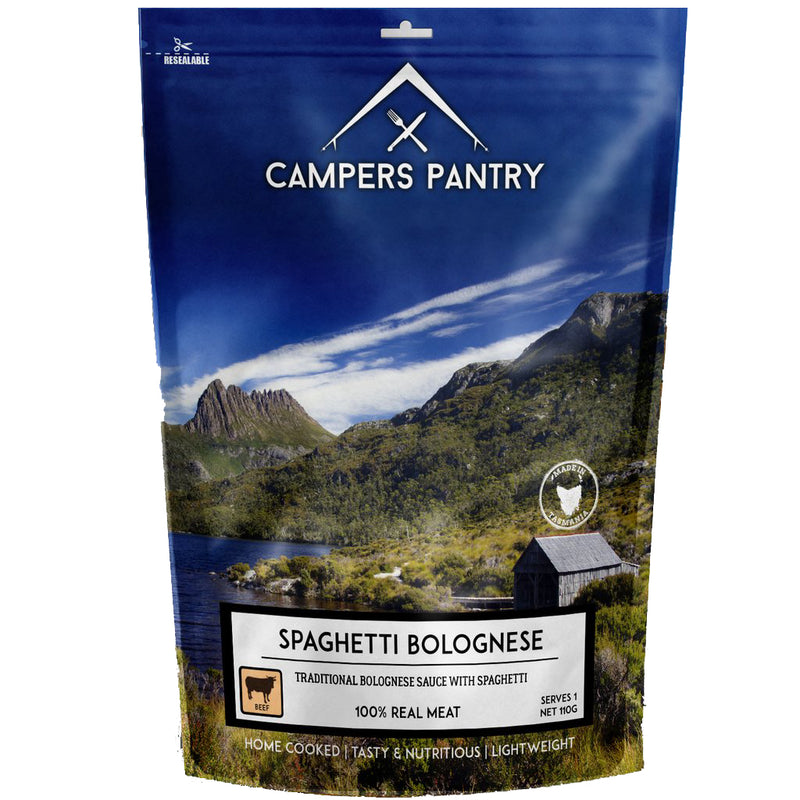Campers Pantry : Spaghetti Bolognese - 1 Serve