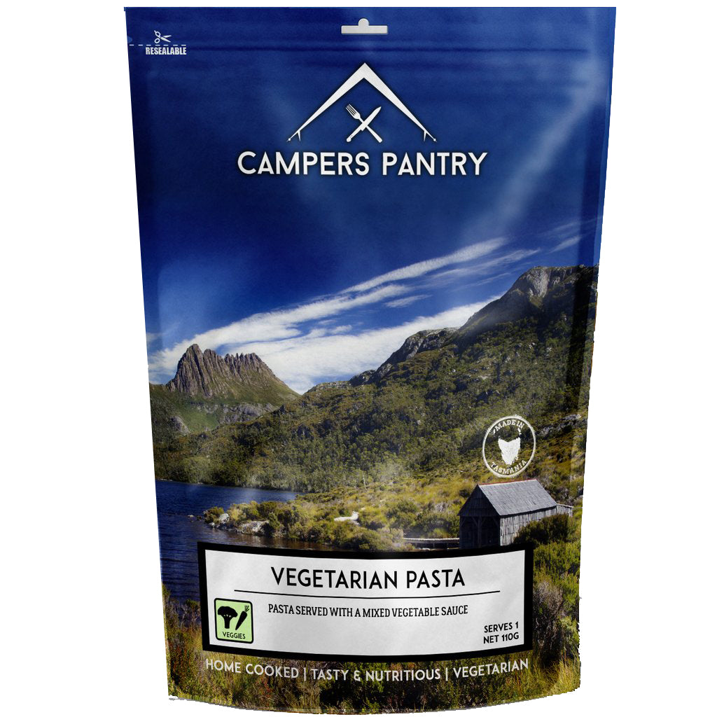 Campers Pantry : Vegetarian Pasta- 1 Serve