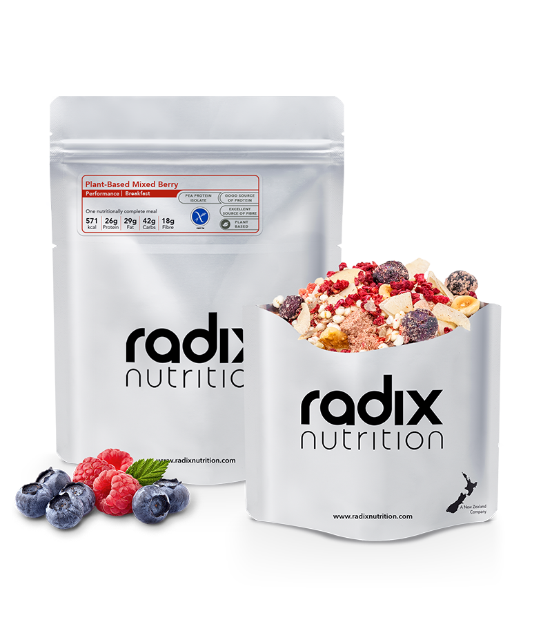 Radix Nutrition : PERFORMANCE | Plant-Based Mixed Berry Breakfast | Single Serve
