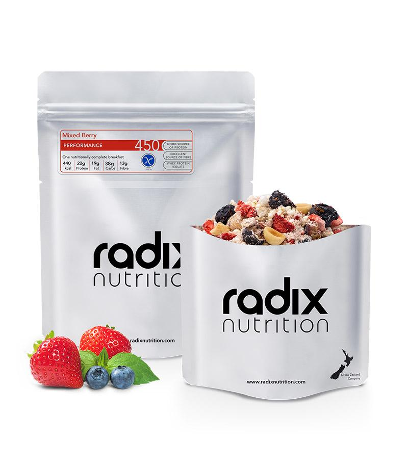 Radix Nutrition : PERFORMANCE 450 | Mixed Berry Breakfast | Single Serve