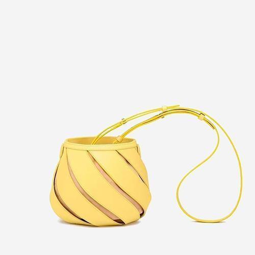 Nico Bucket Bag Yellow - perfectein.com