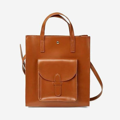 City Hunter Tote Backpack Cognac - perfectein.com