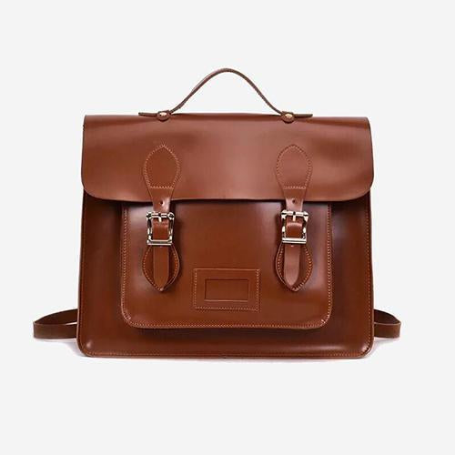 El Collegio Vintage Satchel Backpack - perfectein.com