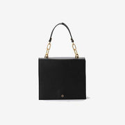 Florence Crossbody Accordion Satchel Black
