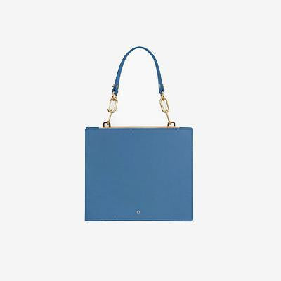 Florence Crossbody Accordion Satchel Blue