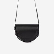 Half Moon Saddle Bag Black - perfectein.com