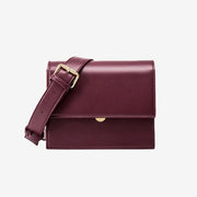 Khloe Crossbody Bag Burgundy