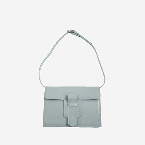 [New] Kinsley Shoulder Bag Light Blue - perfectein.com