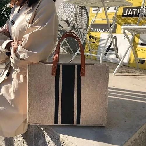 La Mode Canvas Tote