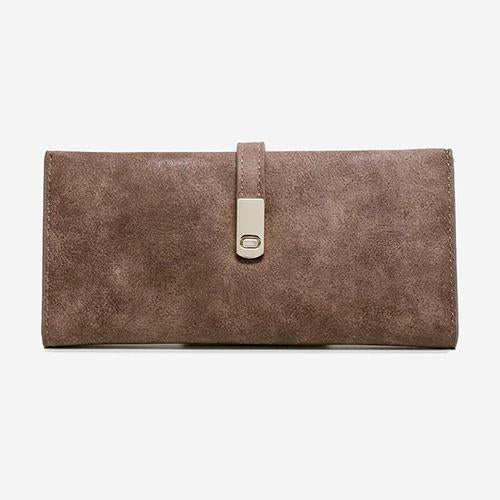 The One - Vegan Leather Wallet Matte Coffee - perfectein.com