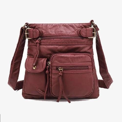 Scarlet Crossbody Hobo Bag