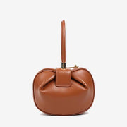The Kering Top Handle Handbag Caramel