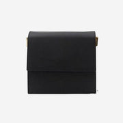 The Run Way - Mini Flap Bag Matte Black - perfectein.com