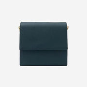 The Run Way - Mini Flap Bag Matte Turquoise - perfectein.com
