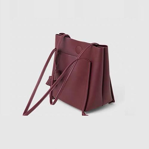 Celine Tote Purse Crimson - perfectein.com