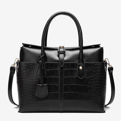 LeCahier Women's Work Tote Alligator Bag - perfectein.com