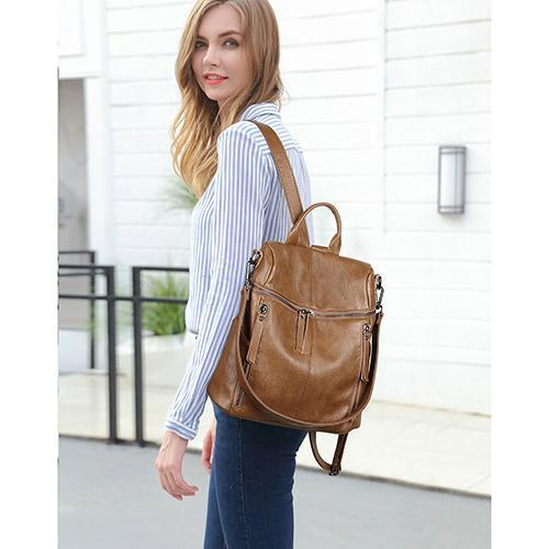 Zoe Convertible Tote Backpack
