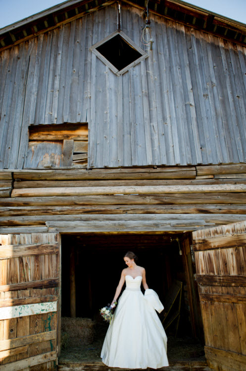 Rustic Wedding Piece of Cake Wedding Decor - Barn Wedding