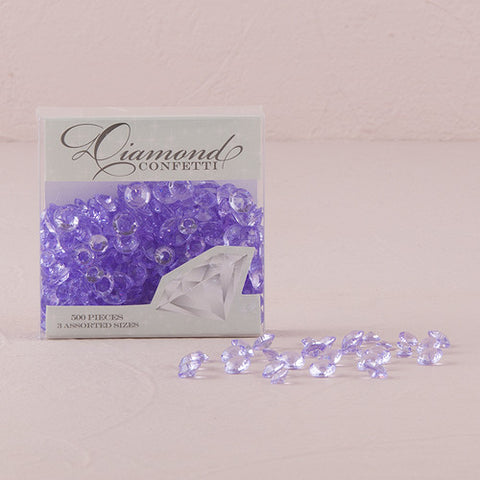 Diamond Shaped Confetti Table Decoration