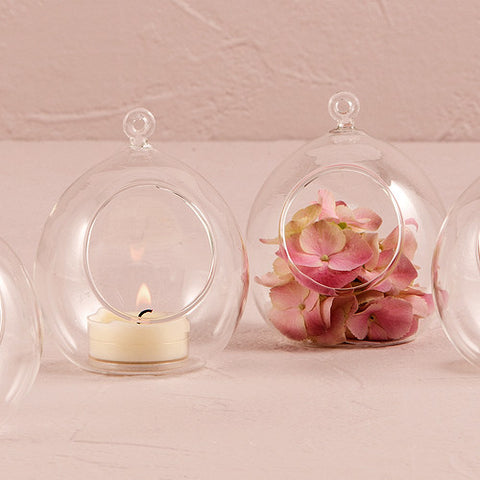 Blown Glass Wedding Globes