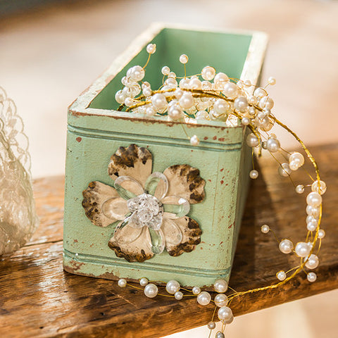 Vintage Inspired Ornate Box