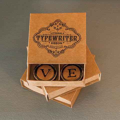 LOVE Typewriter Key Magnets in Gift Packaging Wedding Favor