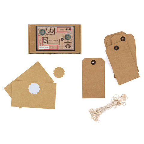 DIY Vintage Inspired Shipping Tag Kit