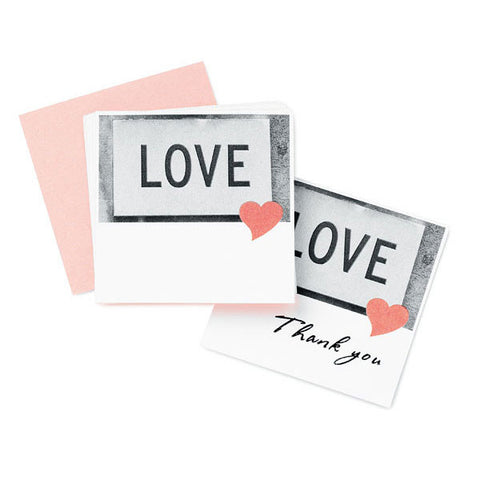 Love Heart Favor / Place Cards