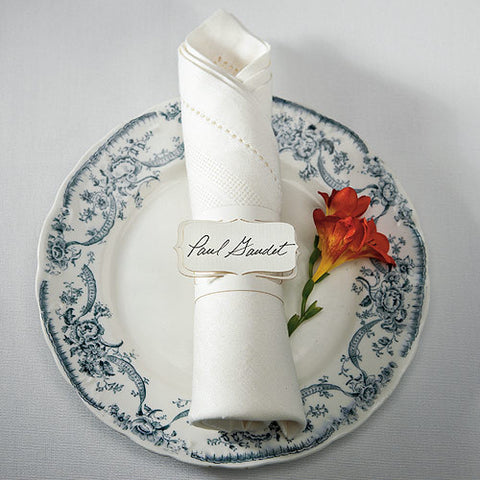 Napkin Ring Place Card
