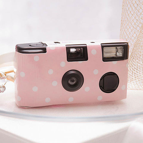 Polka Dot Design in Pastel Pink