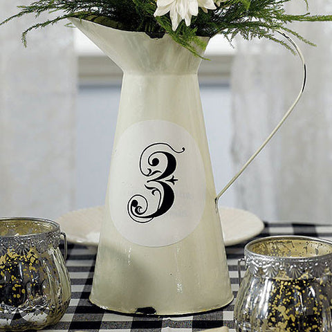 french_provençal_style_enamel_pitcher_wedding_decoration