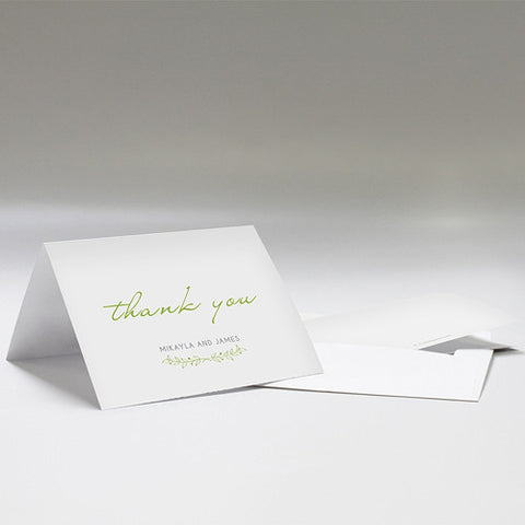 Woodland Wedding Thank You Cards