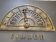 "Load image into Gallery viewer, GIANT 42"" Vintage Elevator Dial Replica"
