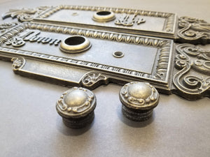 Vintage elevator button panel Twin set