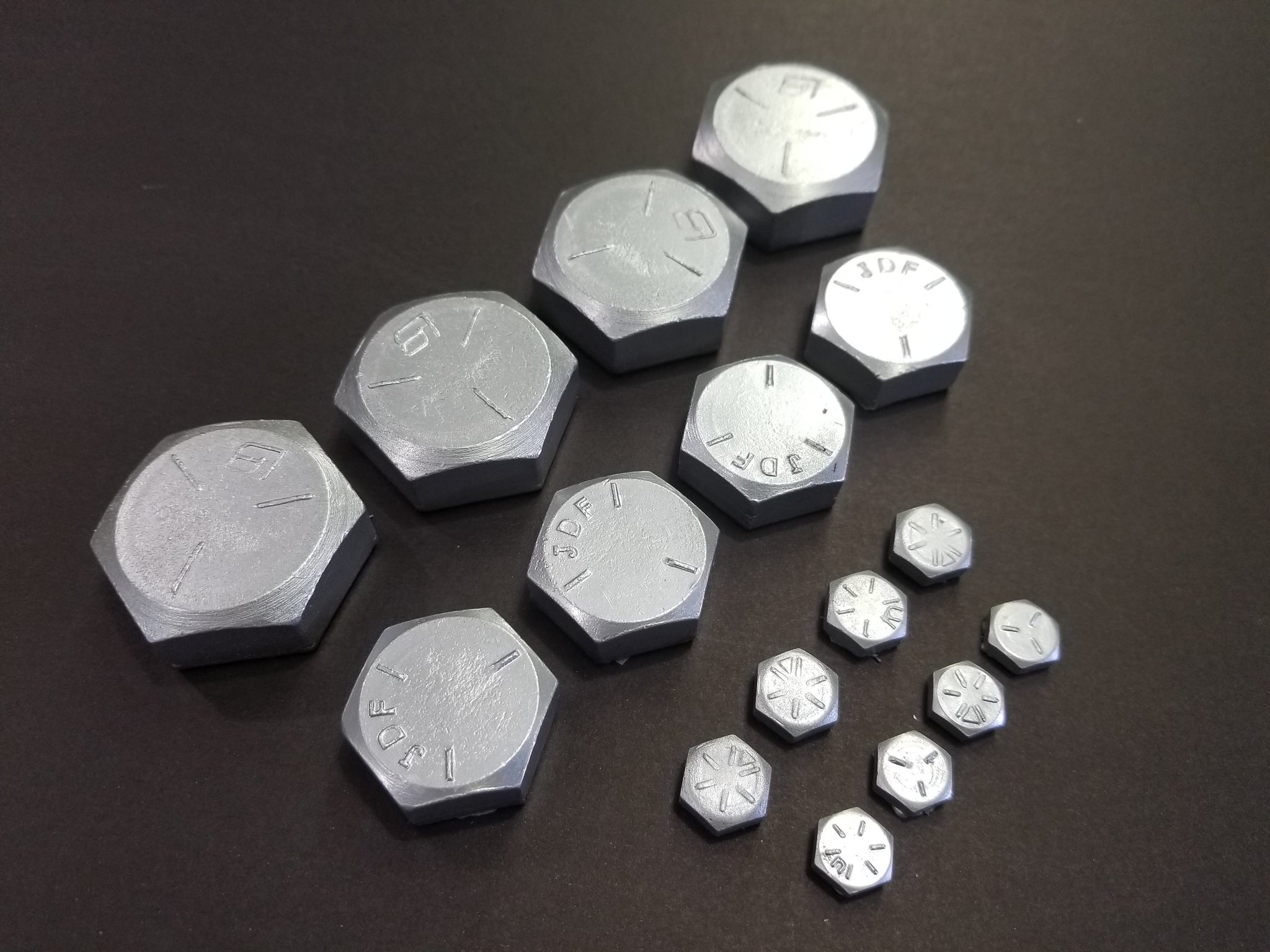 Decorative Resin Bolt Heads For 1 Inch Bolts 1 Dozen The Build Cave