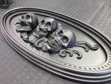 Skull  ornament (resin)