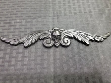 Load image into Gallery viewer, Skull and on Filigree Wings (resin)